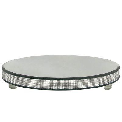 Glitz XLarge Diamante Candle Plate