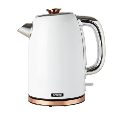 buy tower jug kettle rose gold white from our. Black Bedroom Furniture Sets. Home Design Ideas