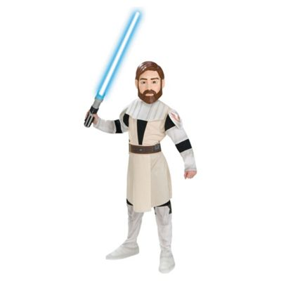 Rubies UK Clone Wars Obi-Wan Kenobi- L