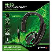 XH-50 WIRED MONO HEADSET (BLACK/GREEN) (XB1) (2/24) XBONE