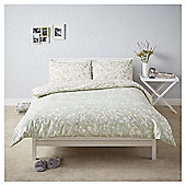 Willow Floral Duvet Set - Green