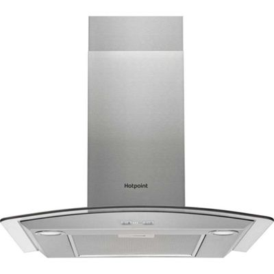 Hotpoint Chimney Cooker Hood, PHGC7.5FABX, 70cm - Stainless steel