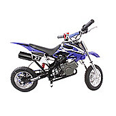 Pocket Rocket Scrambler 49cc Blue