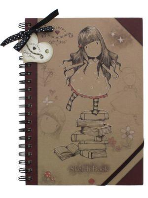 Santoro Gorjuss New Heights Sketchbook Notebook 20x26x1.1cm