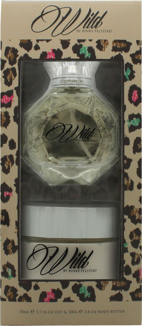 Binky Felstead Wild Gift Set 50ml EDT + 100ml Body Butter For Women
