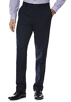 F&F Slim Fit Trousers - Navy