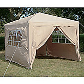 Airwave Pop Up Gazebo Fully Waterproof 3x3m in Beige