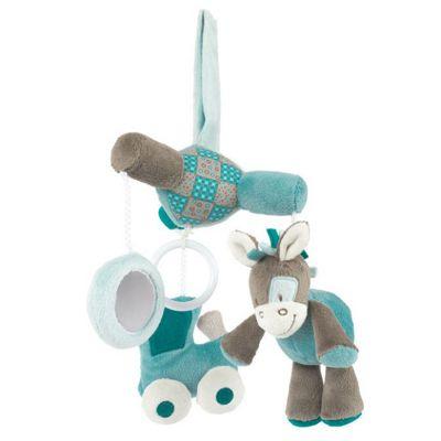 Nattou Mini Baby Cot Mobile - Gaston and Cyril