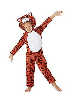 Tiger Fancy Dress Costume - Orange