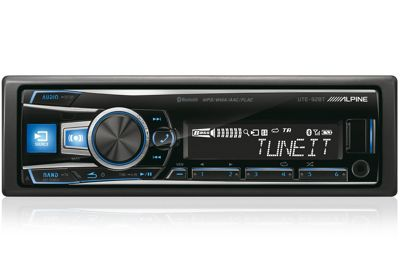 Alpine UTE 92BT Degital Media Receiver With Advanced Bluetooth Full iPod/iPhone control