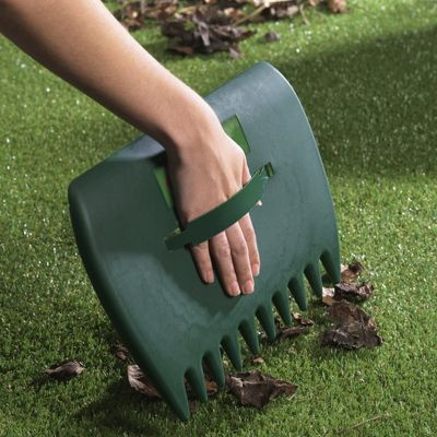 Ambassador Plastic Garden Scoop for Grass, Leaf and Rubbish Collector
