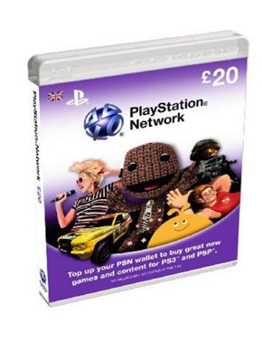 Playstation Network - £20 Card