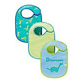 B Newborn's Newborn Dinosaur Bibs - 3 Pack