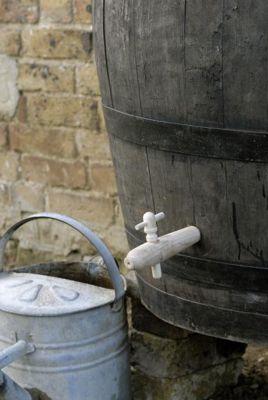 Wooden tap for the oak whiskey barrels