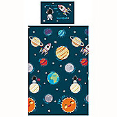 Solar System Junior Duvet Cover and Pillowcase Set