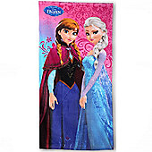 Frozen 'Sisters Forever' Printed 100% Cotton Beach Towel