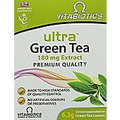 Vitabiotics Ultra Green Tea 180mg - 30 Tablets