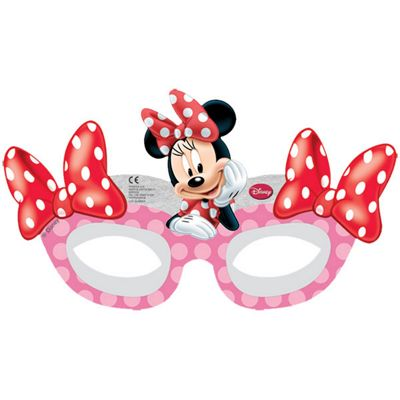 Minnie Mouse Cafe Party Masks