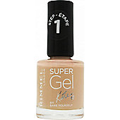 Rimmel Super Gel Nail Polish 12ml - Bare Yourself