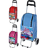 Summer Cooler Bag Trolley (25 Litres) Pink