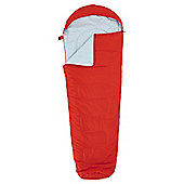 Tesco Microlite Mummy Sleeping Bag Red