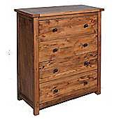 Core Products DN514 Denver Chest of 4 Drawers