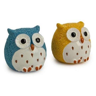 Owl Lip Balm Duo - Mint & Vanilla