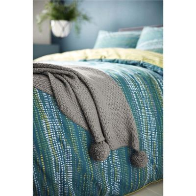 Appletree Sula Throw - Grey