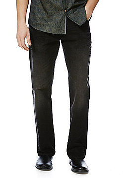 F&F Loose Fit Jeans - Black