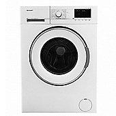 Sharp ESGL76W 1600 Spin 7kg Washing Machine, White