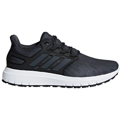 adidas Energy Cloud 2 Mens Neutral Running Trainer Shoe Carbon/Black - UK 10.5