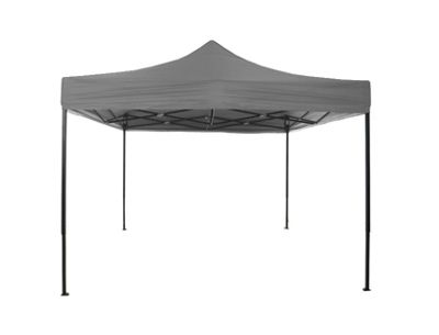 Airwave Four Seasons Premium 3x3 Gazebo No Sides Grey