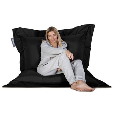Big Bertha Original™ Indoor / Outdoor Large Bean Bag - Black