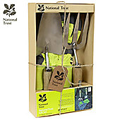 Charles Bentley National Trust Double Gift Set With Rigger Gloves Garden Tools