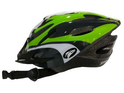 Coyote Sierra Dial Fit Adult Cycling Helmet Green Medium