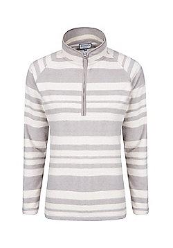 Mountain Warehouse Snowdon Striped Womens Fleece ( Size: 16 )