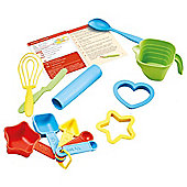 Green Toys Bake by Shape - Uniquely Shaped Measuring Spoons for Baking to Teach Cups, Tablespoons and Teaspoons