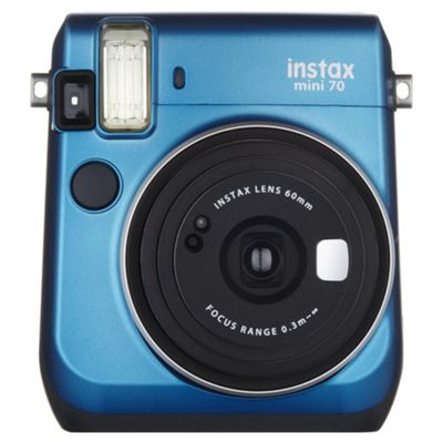Instax Mini 70 Instant Camera, Blue