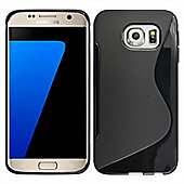 Case Samsung S7 Edge Black Gel Case for Mobile Phone