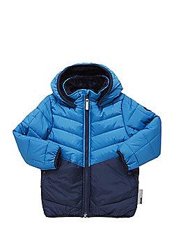 Name It Nitmeg Hooded Padded Jacket - Blue