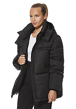 F&F Active Quilted Ski Jacket - Black