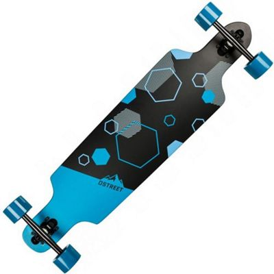 D-Street Polygon Hex Complete Drop Through Longboard