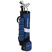 Young Gun Zaap Birdie Junior Kid Right Hand Golf Set + Bag Age 6-8 Blue