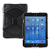 Navitech Multi Function Silicone / Waterproof / Shockproof / Dustproof Rugged Case Cover with Stand for the Apple iPad 9.7 inch