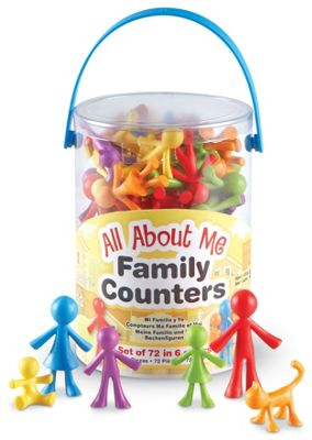Learning Resources All About Me Family Counters (Set 72)