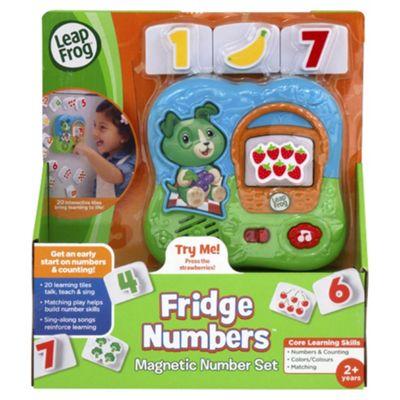 LeapFrog Fridge Numbers Magnetic Number Set