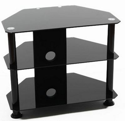 ValuFurniture Universal Black TV Stand for up to 32 inch TVs