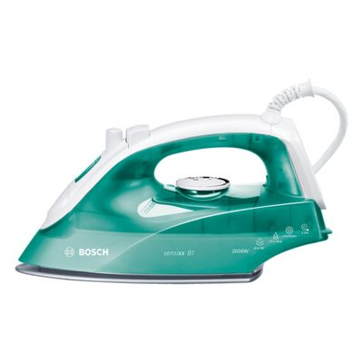 Bosch TDA2623GB Steam Iron with 2000W and 290ml Tank Capacity in Green