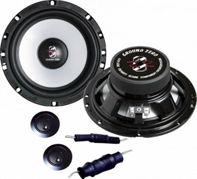 Ground Zero Titanium 10TX Coaxial Car Speakers