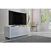 Alphason Element EMT1250XL-WHI White TV Stand for up to 60 inch TVs